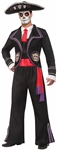 Men's Day of the Dead Mariachi Costume