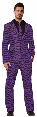 Purple Bat Suit Costume