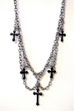 Cross Choker Accessory
