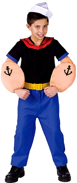 Popeye Halloween Costume for Boys