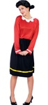 Womens Olive Oyl Costume