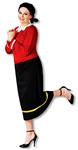 Olive Oyl Women's Plus Size Costume from Popeye