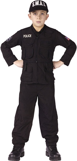 S.W.A.T. Team Child Sized Costume