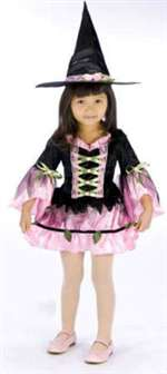 Toddler Blossom Witch Girls Costume from Enchanted Garden
