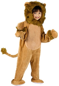 Toddler Cuddly Lion Boys Costume