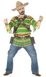 Mens Tequila Pop N Dude Bandito Costume