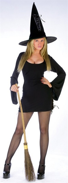 Womens Witch Tied Up Adult Costume