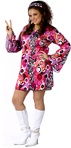 Plus Size Feelin' Groovy Adult Costume