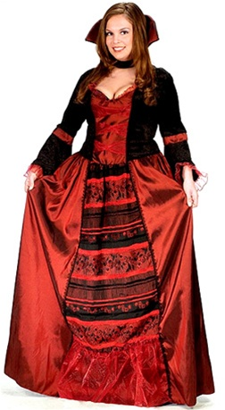 Plus Size Vampire Queen Costume