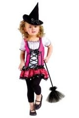 Sugar N' Spice Witch Costume-Toddler Girls