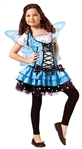 Girl's Blue Fairy Costume - BlueBelle - Halloween