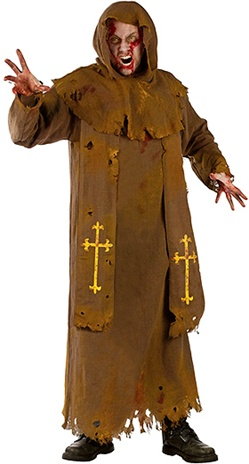 Zombie Monk Costume - Adult