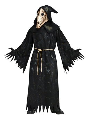 Men's Horse Skull Demon Reaper Costume