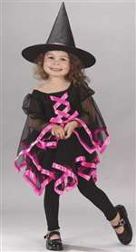 Toddler Ribbon Witch Girls Costume