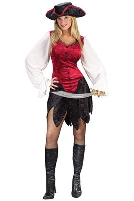 Adult First Mate Pirate Costume