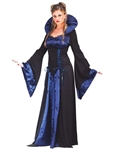 Adult Blue Eternal Vampiress Womens Costume