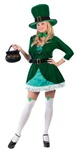 Adult Luscious Leprechaun Womens Costume