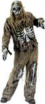 Adult Skeleton Zombie Costume
