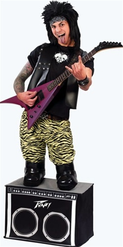 Mini Rocker Adult Costume