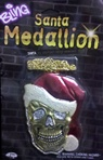 Santa Bling Medallion - Accessory
