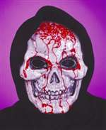 Bleeding Halloween Skull Mask