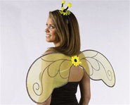 Child Bee Wings Costume Set