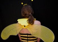 Adult Instant Bumblebee Costume Set