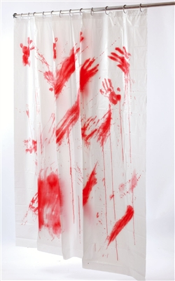 Bloody Shower Curtain - Accessory