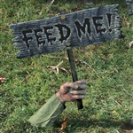 Feed Me Graveyard Sign