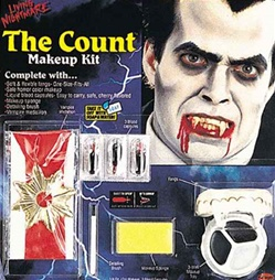 Living Nightmare Horror Character Accessory Kit - COUNT