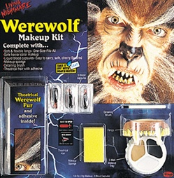 Living Nightmare Horror Character Accessory Kit - WEREWOLF