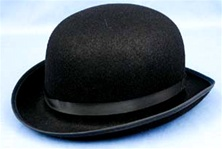 Black Derby Hat