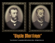 Uncle Mortimer Changing Portrait 8 x 10 - Decoration