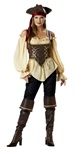 Incharacter Costumes Rustic Pirate Lady Costume