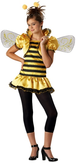 Junior Girl's Bee Costume