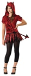 Junior Girl's Rebel Devil Costume