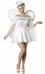 Deluxe Women's Angel  Costume