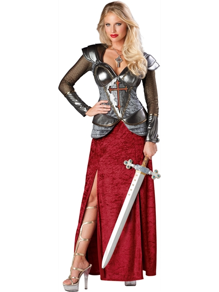 Women's Deluxe Knight Costume
