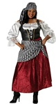 Plus Size Women's Pirate Wench Costume