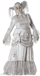 Plus Size Women's Ghost Costume