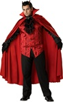 Deluxe Plus Size Handsome Devil Costume