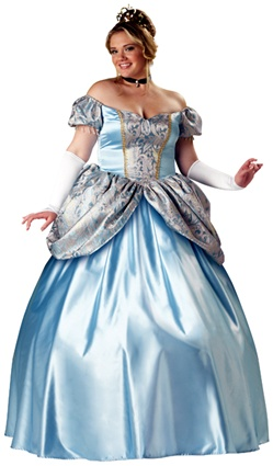 Plus Size Women's Cinderella Costume