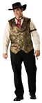 Deluxe Men's Plus Size Western Costume