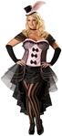 Plus Size Can-Can Dancer Costume