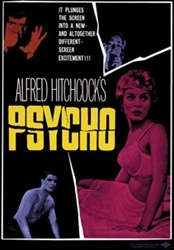 Adult Alfred Hitchcock Psycho T-Shirt