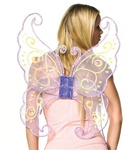 Purple Butterfly Fairy Wings