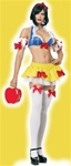 Ultra Sexy Snow White Costume - M/L