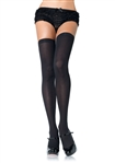 Sexy Black Thigh High Stockings from Leg Avenue