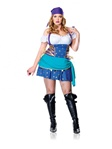 Plus Size Gypsy Halloween Costume