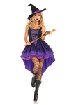 Women's Broomstick Babe Witch Costume